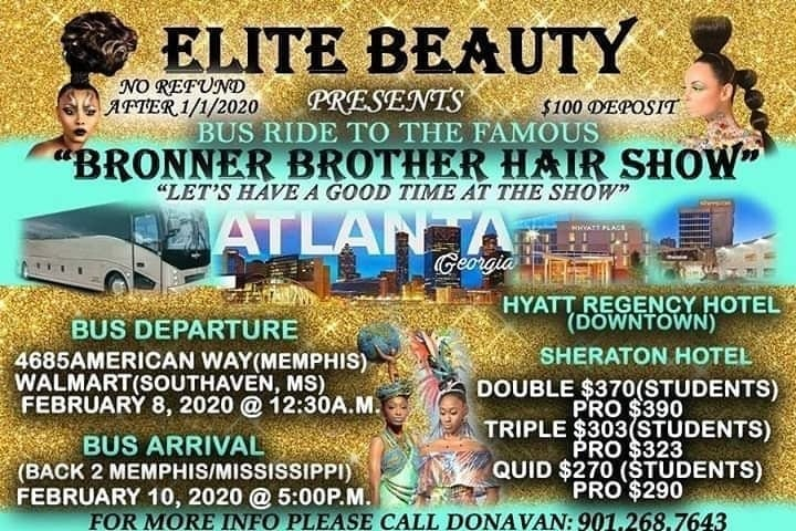 Bronner Brother Hairshow